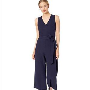 Calvin Klein navy blue jumpsuit romper, 4 NWOT